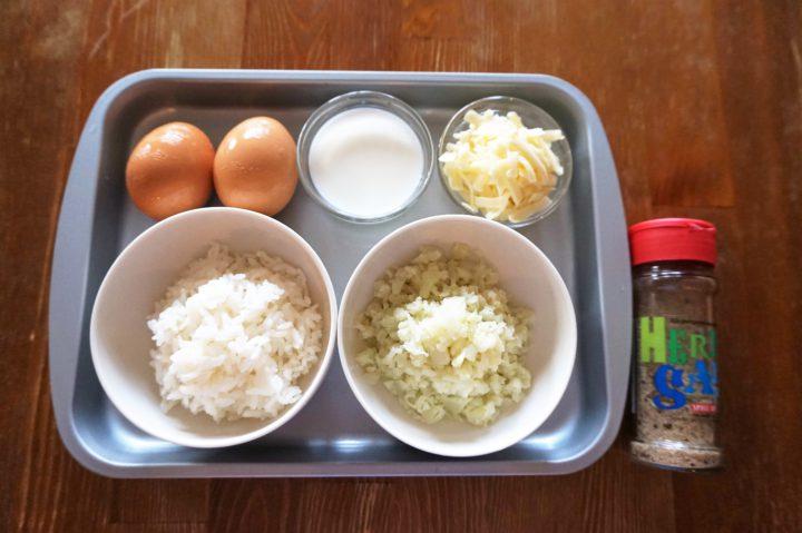 卵焼きご飯材料