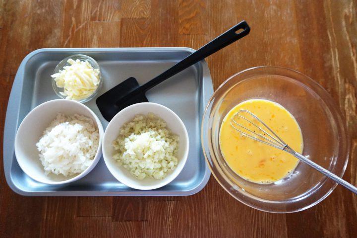 卵焼きご飯の作り方1