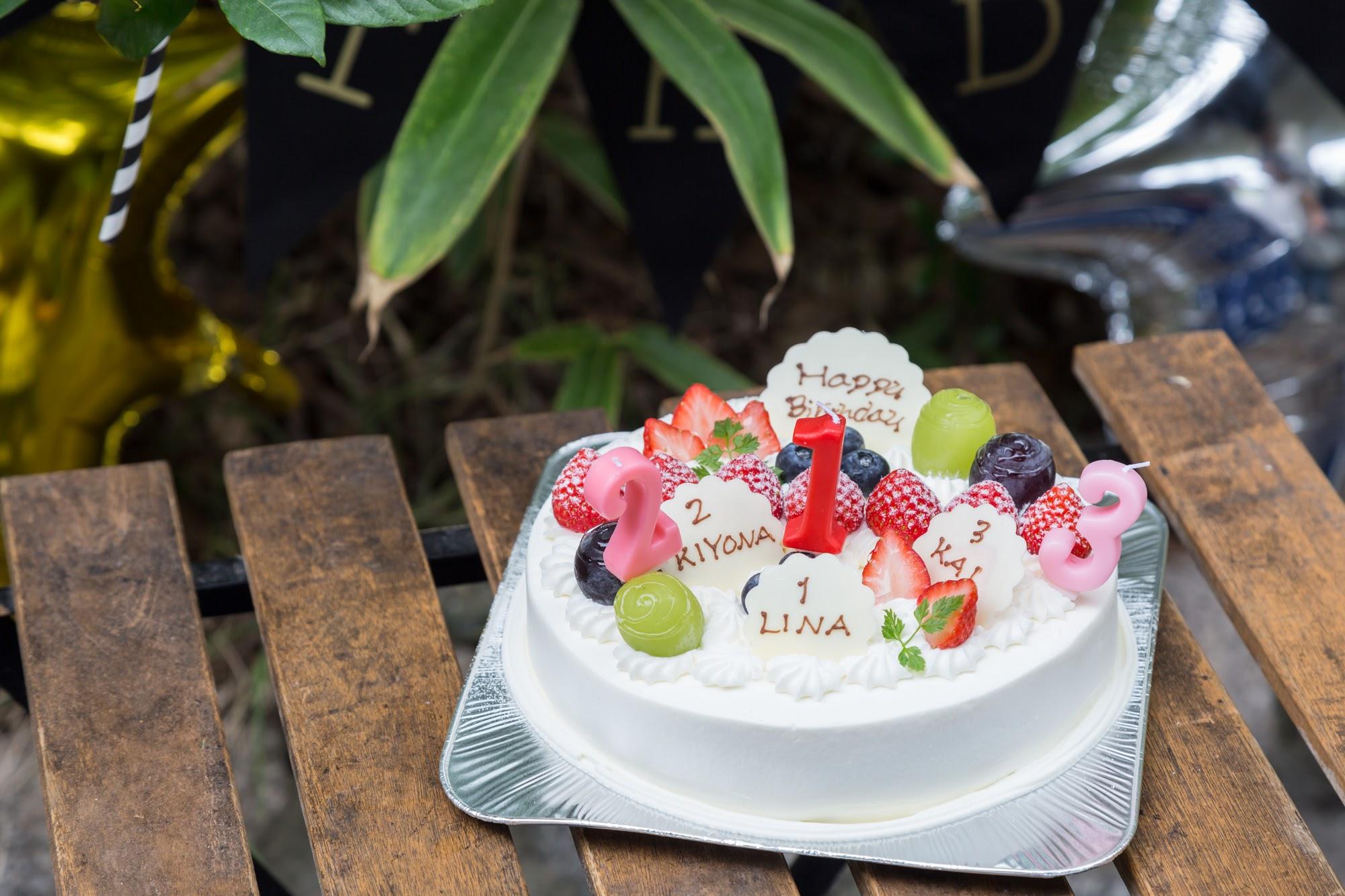 合同バースデーケーキ