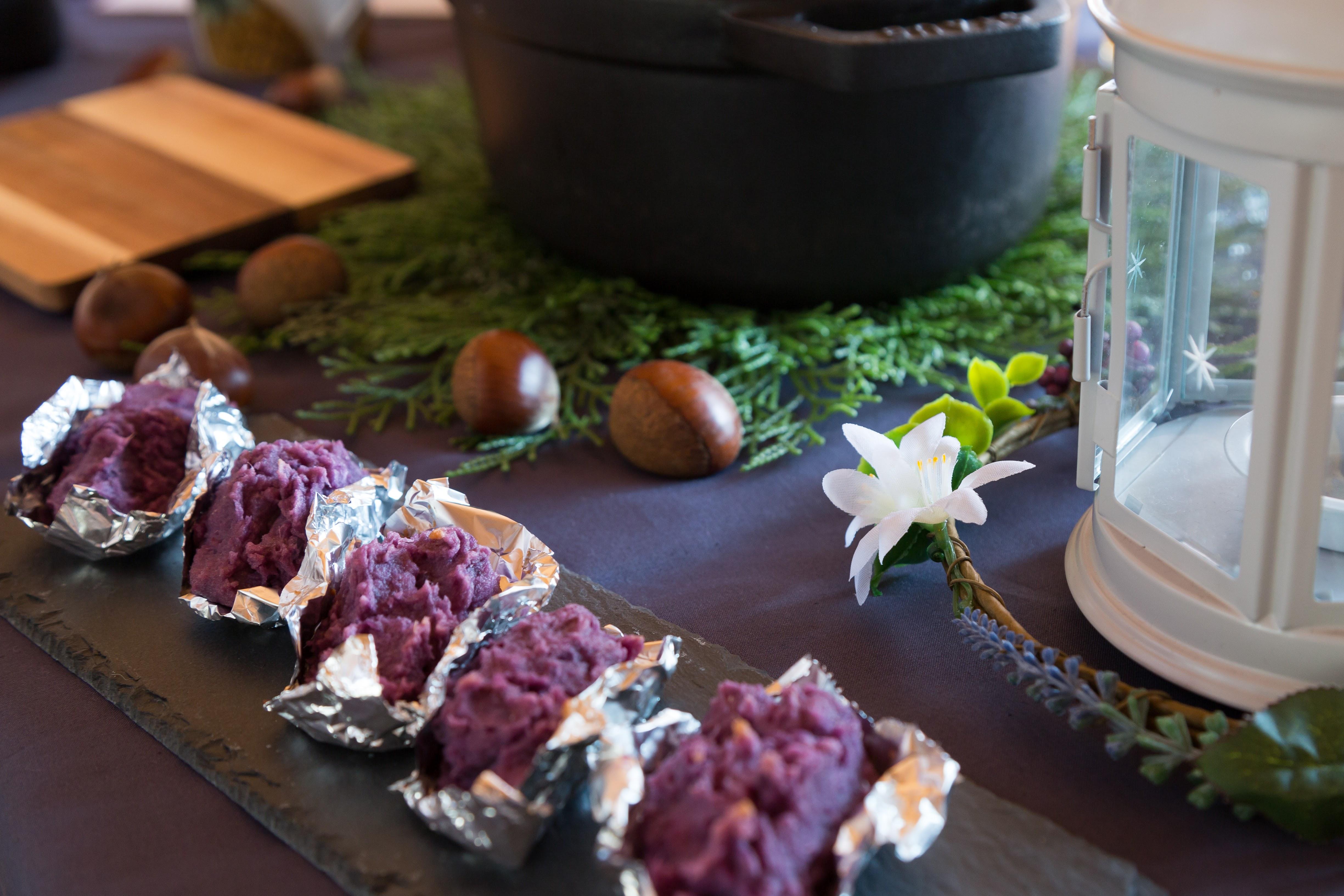 紫芋 スイートポテト