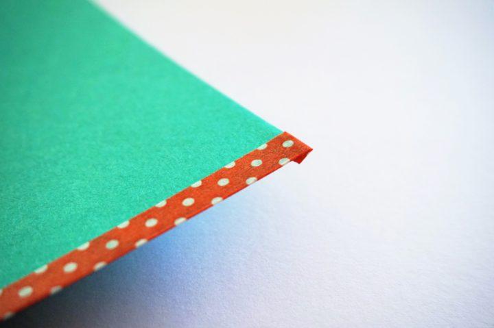 画用紙ランチョンマット作り方2
