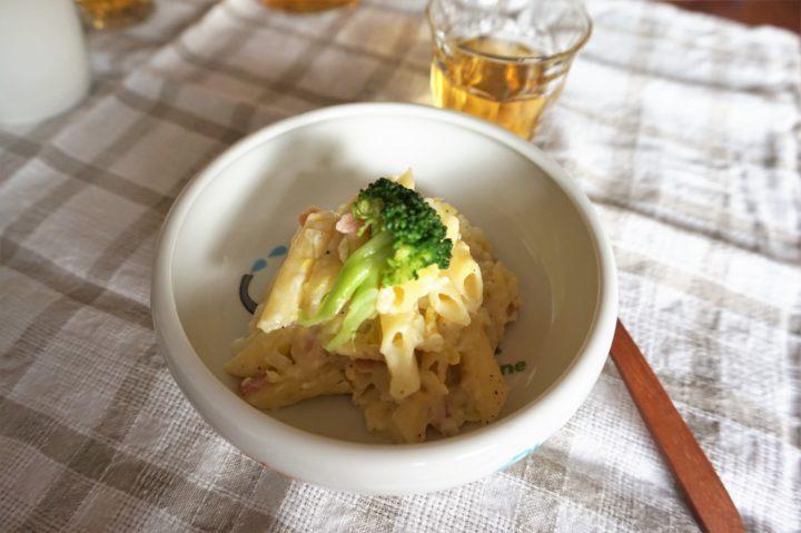 白菜の幼児食パスタ