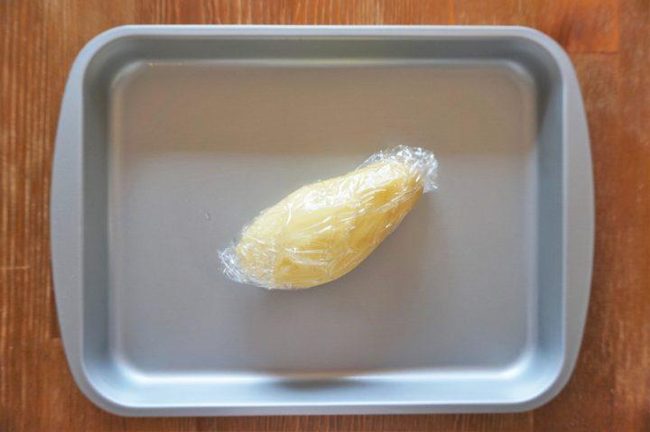 ハートポテトピザ作り方1