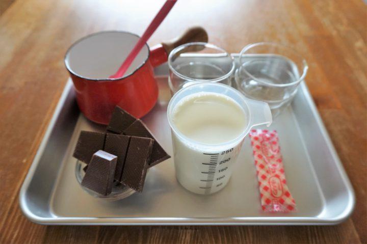 チョコプリン作り方1