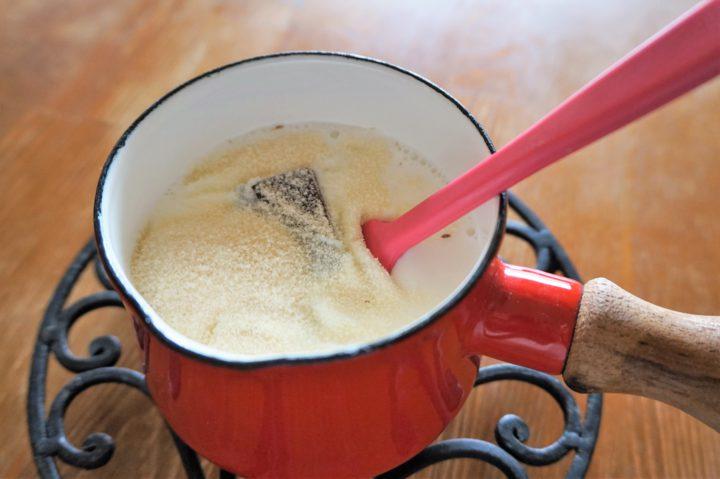 チョコプリン作り方2