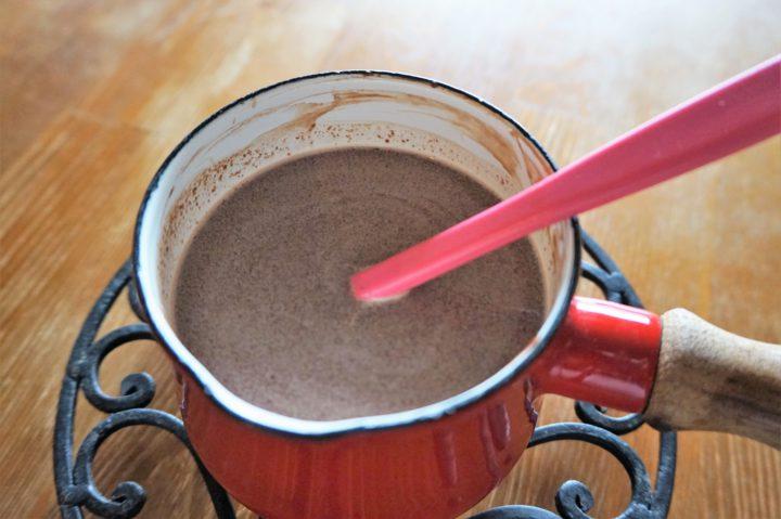 チョコプリン作り方3