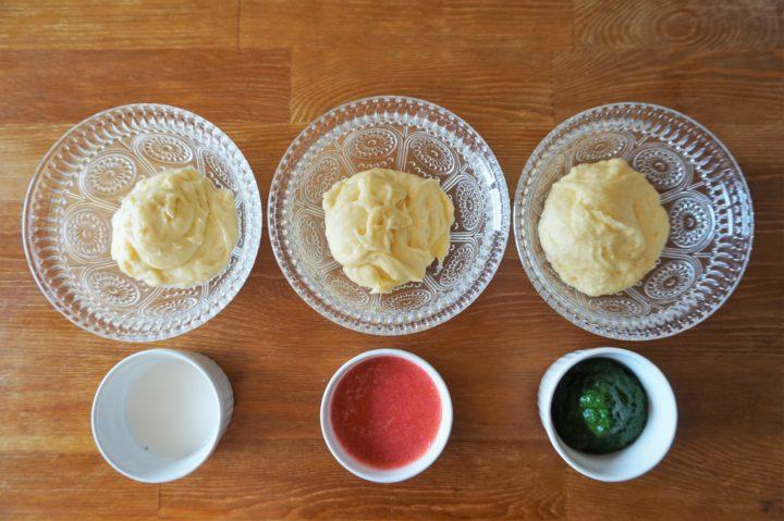 菱餅風パンケーキ作り方2
