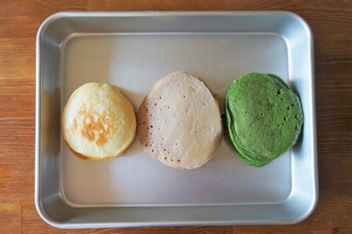菱餅風パンケーキ作り方4