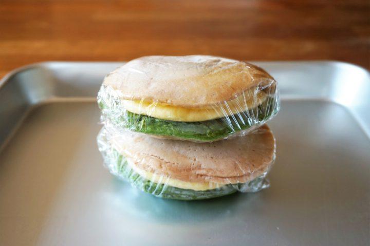 菱餅風パンケーキ作り方5