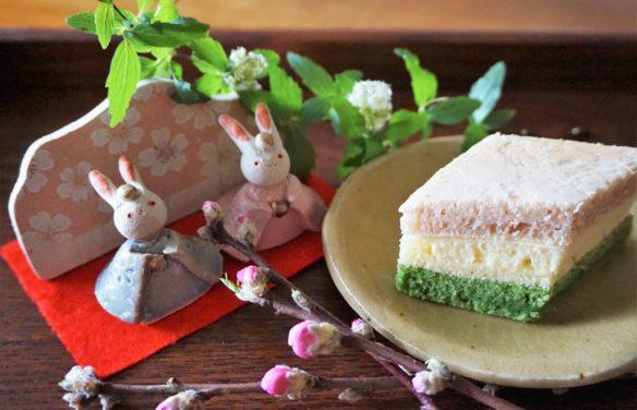 菱餅風パンケーキイメージ1