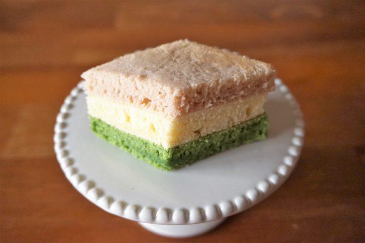 菱餅風パンケーキ作り方7