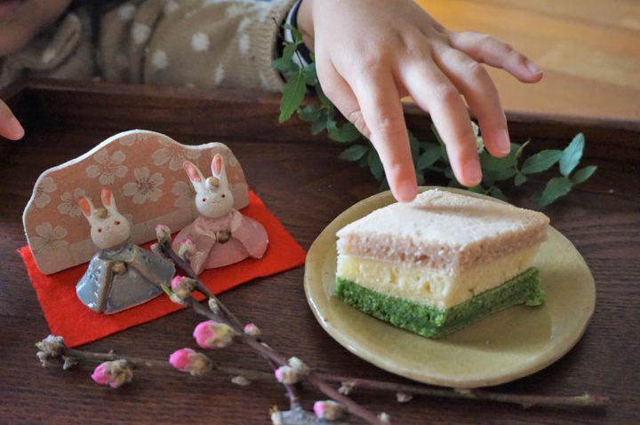 菱餅風パンケーキイメージ2