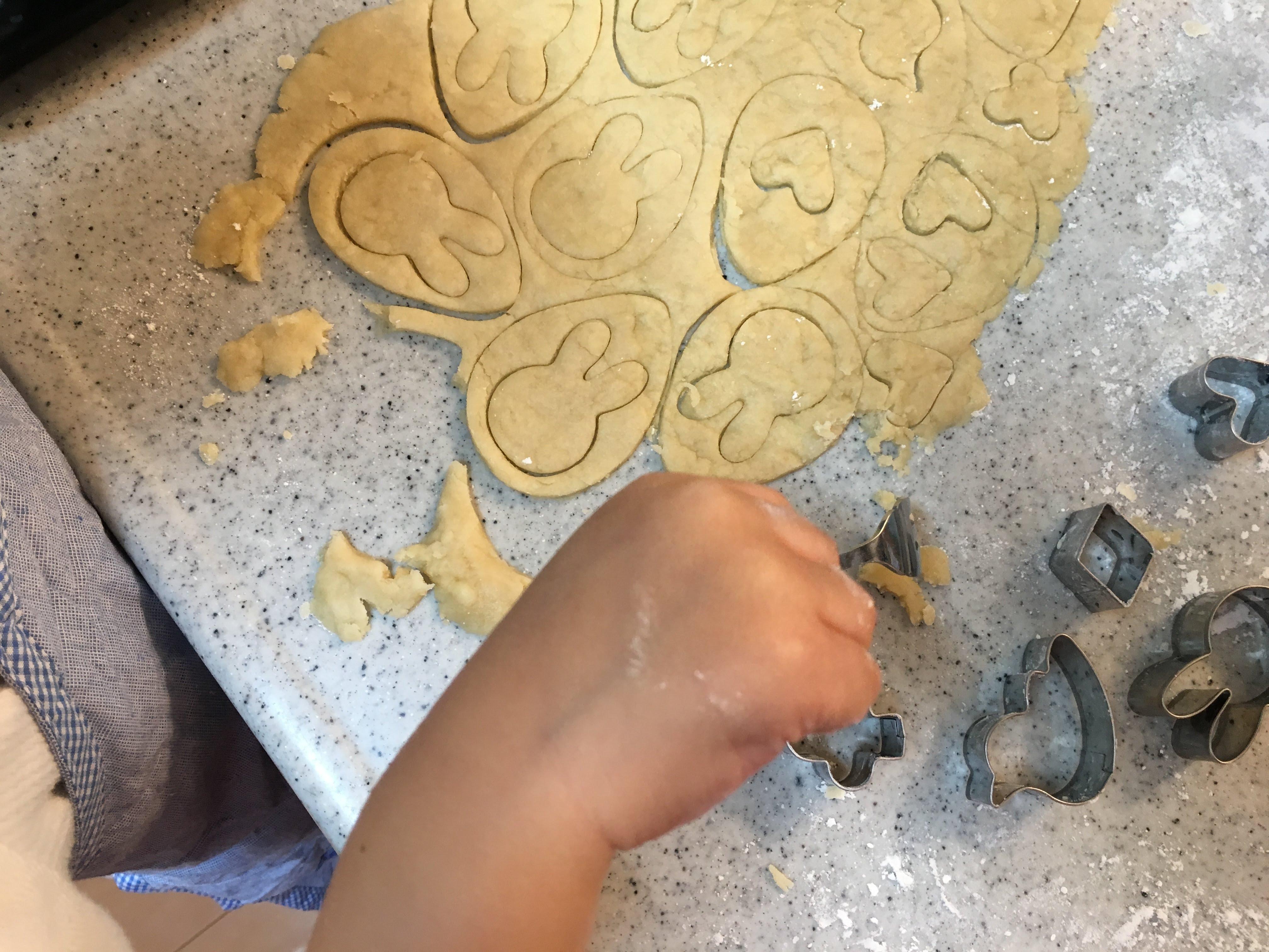 クッキー型抜き フォーク