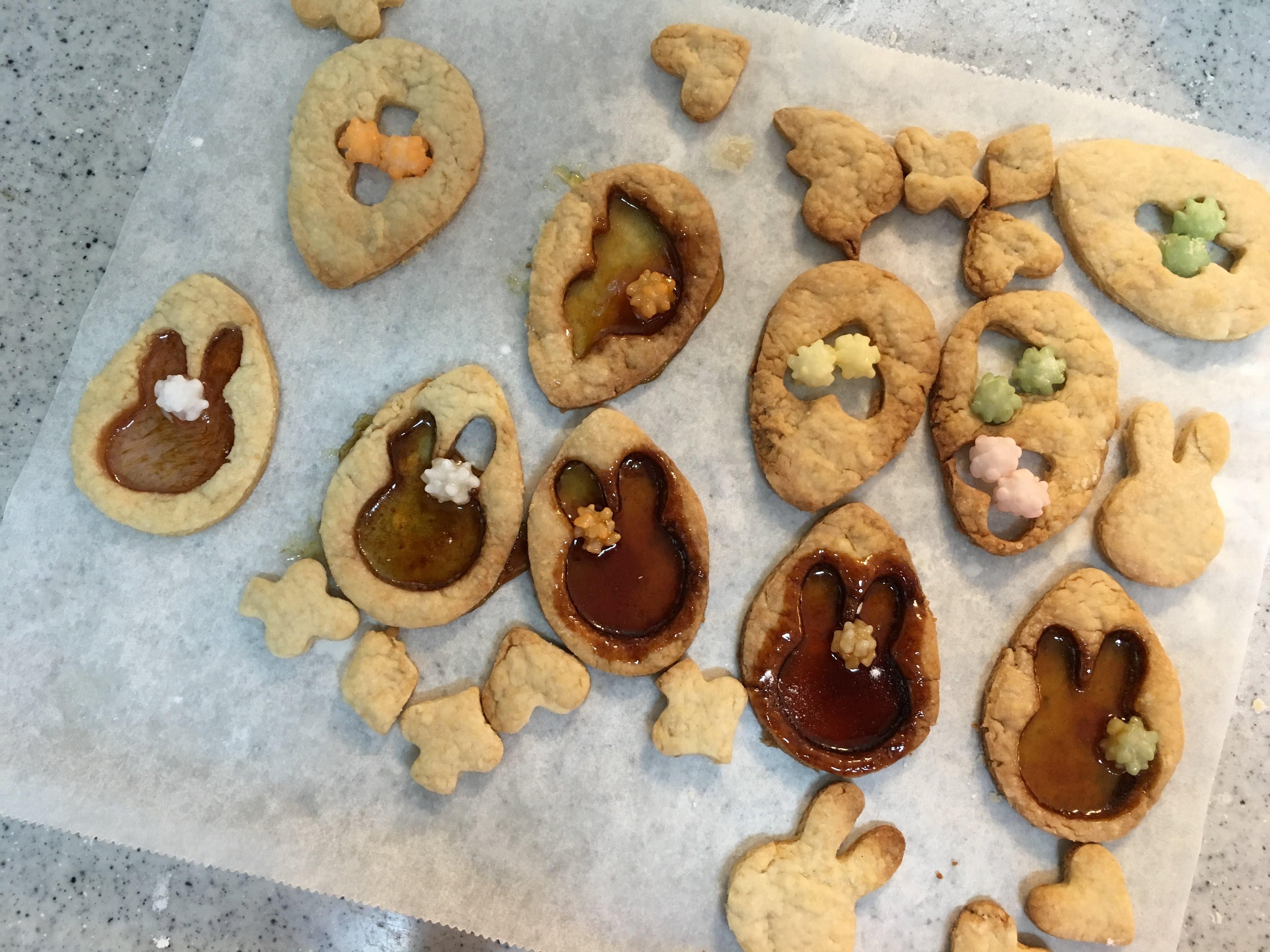 ステンドグラスクッキー 失敗
