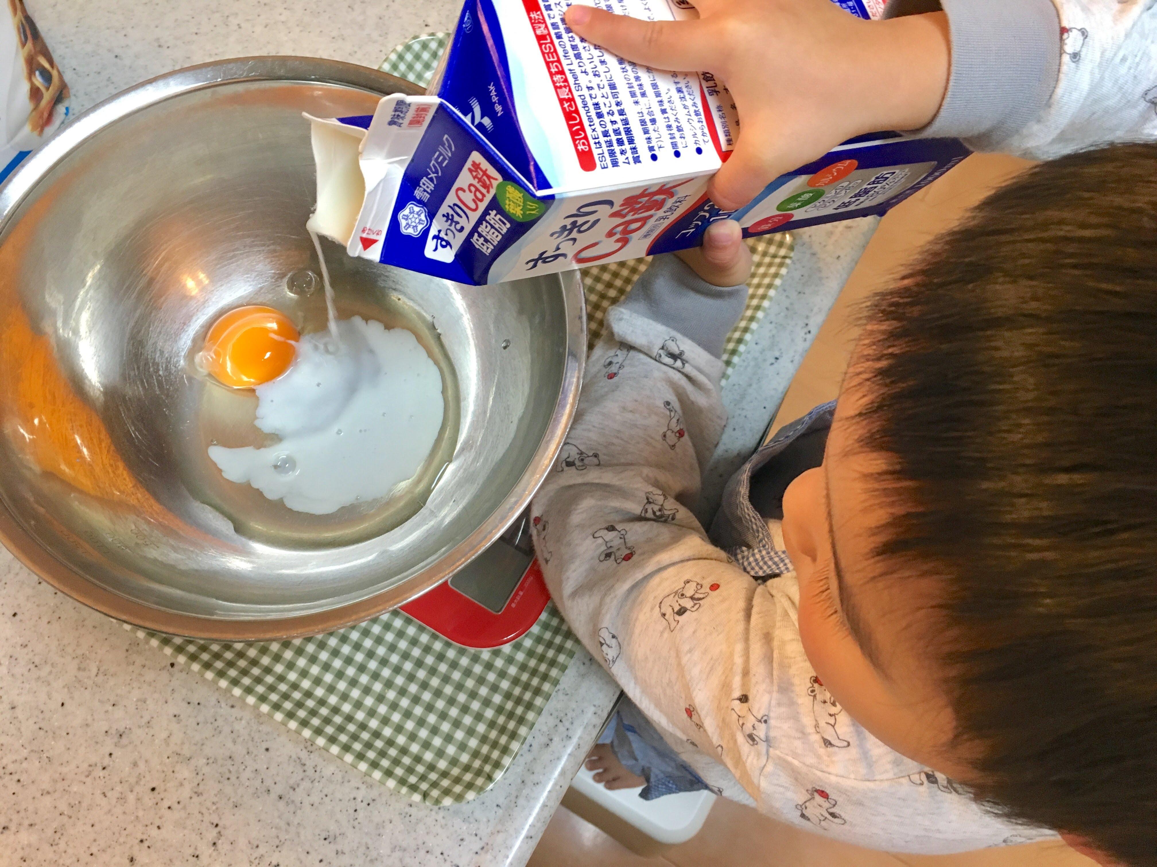 パンケーキ作り方