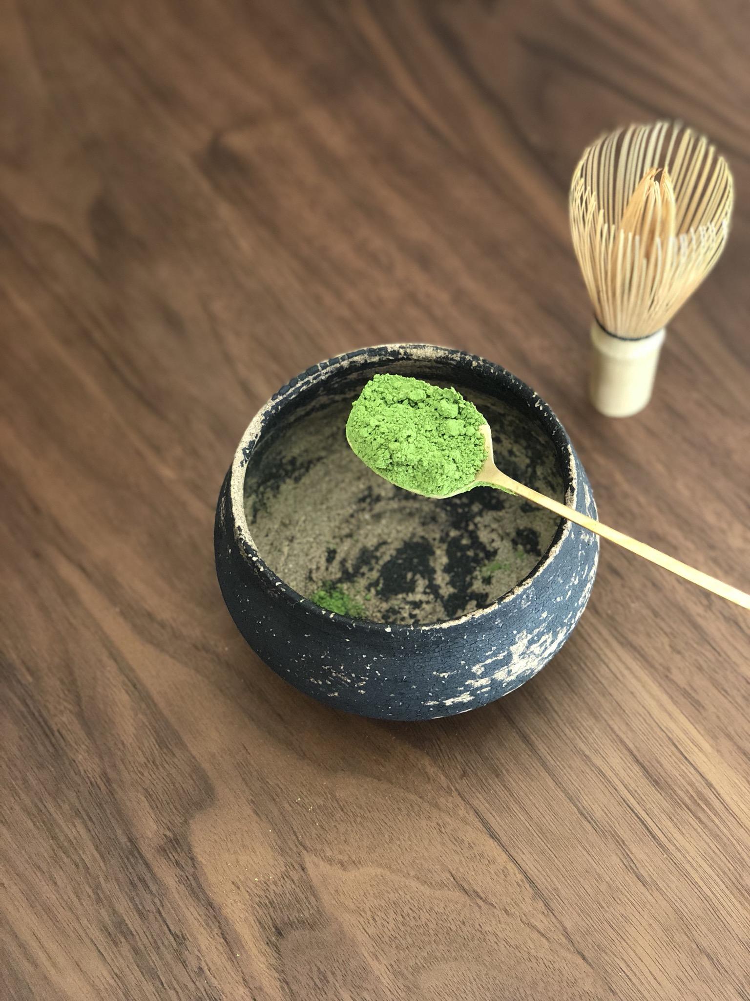 抹茶を作る