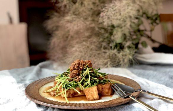 豆苗の炒め物2