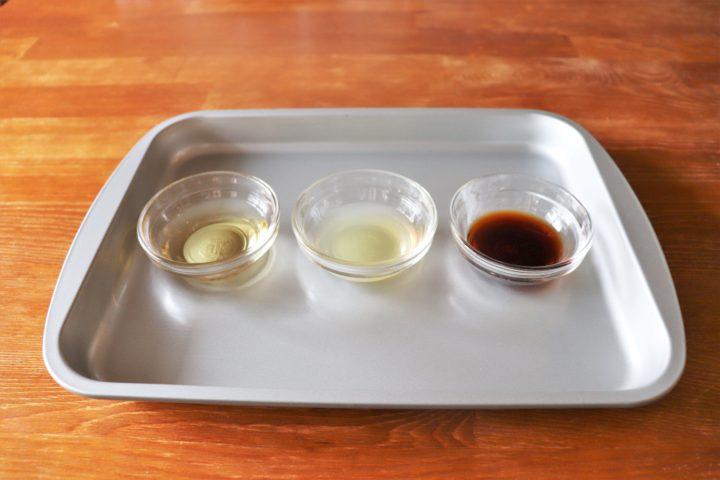 酢の物レシピ調味料1