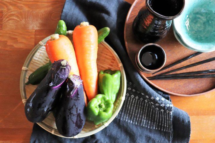 野菜あっさりおつまみ調理前イメージ