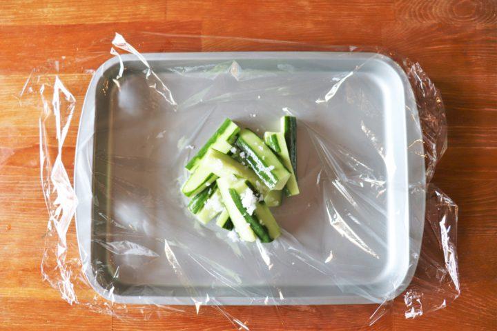 野菜あっさりおつまみ作り方1