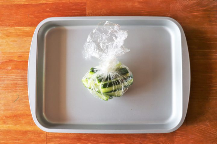 野菜あっさりおつまみ作り方2