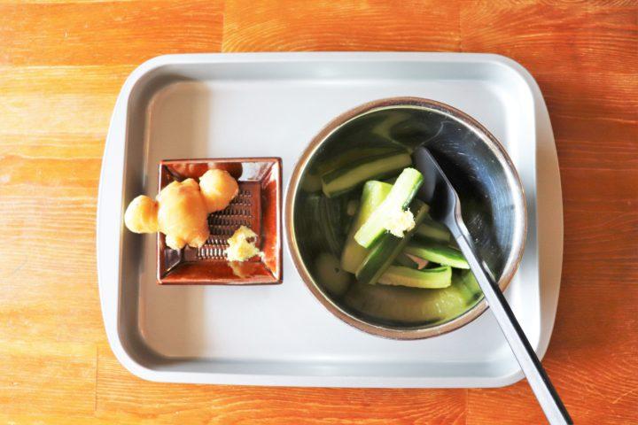 野菜あっさりおつまみ作り方3