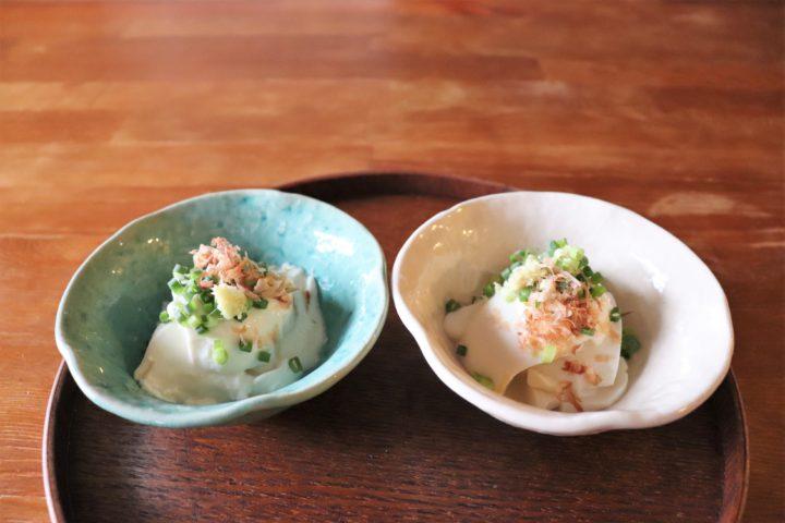 豆腐の盛り付け方器選び